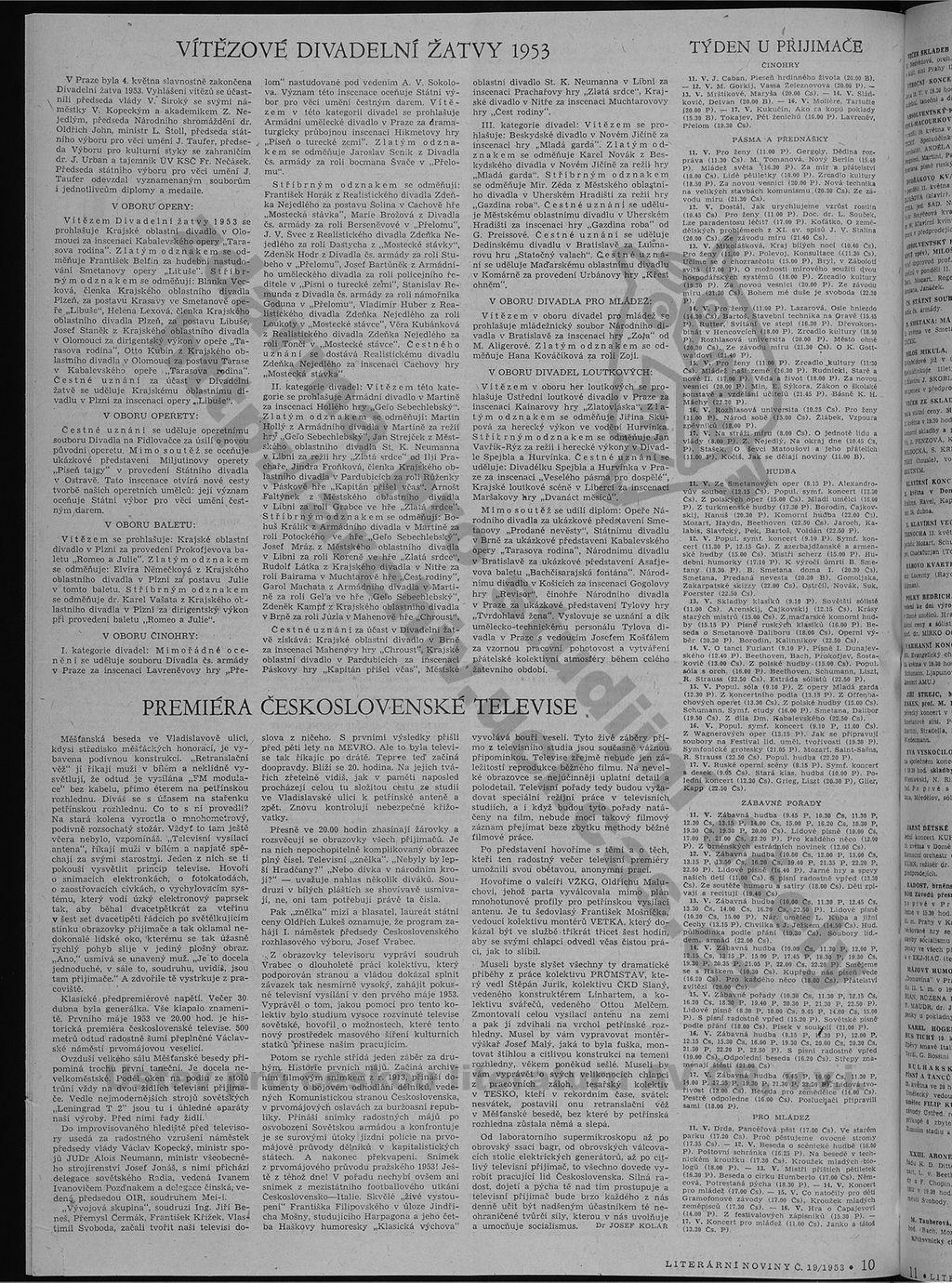 strana 10 Literární noviny 9.5.1953