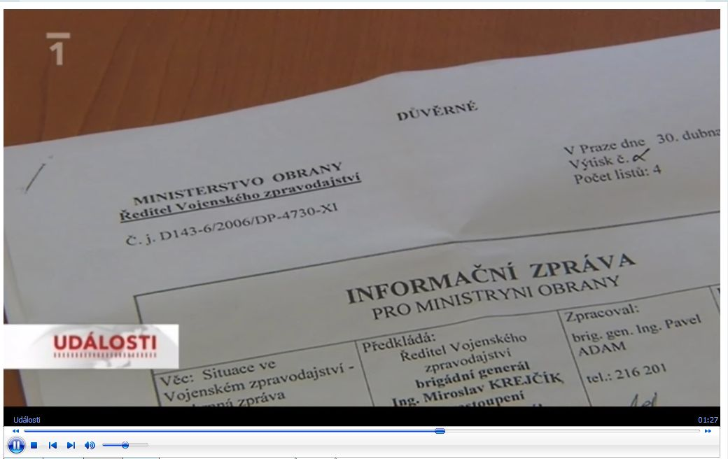 Dokument z Rožánkovy reportáže