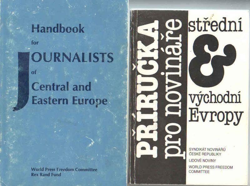 Příručka pro novináře 1990