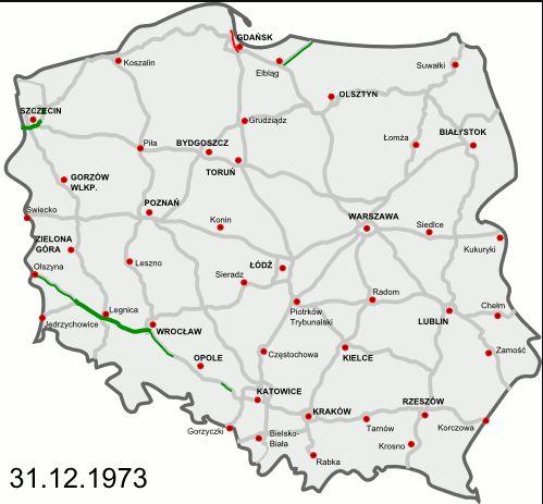 dálnice v Polsku