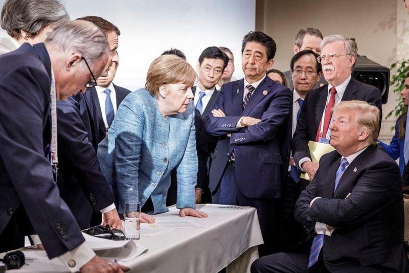 setkání šéfů vlád G7 2018