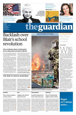 The Guardian - vydání v novémformátu