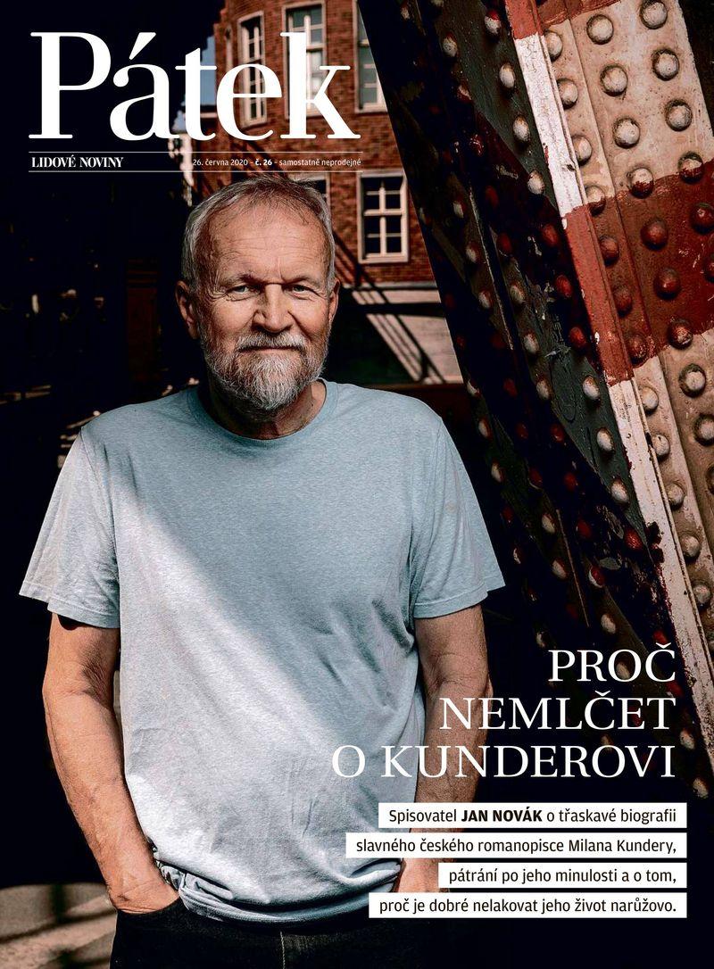 spisovatel Jan Novák - Kundera