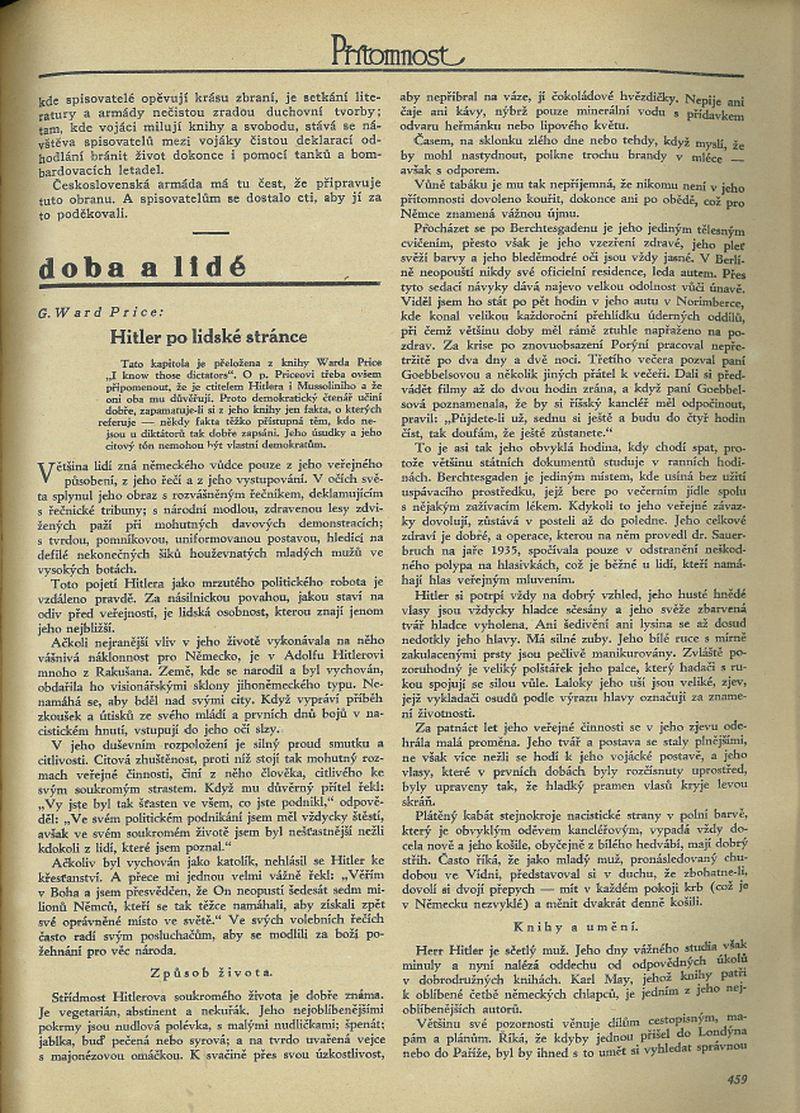 Přítomnost 20.7.1938