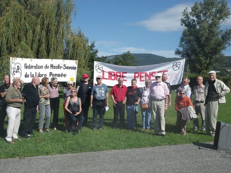 Libre Pensee z Horního Savojska