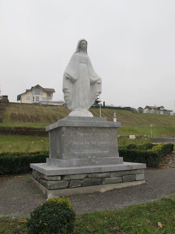 socha Panny Marie v Publier