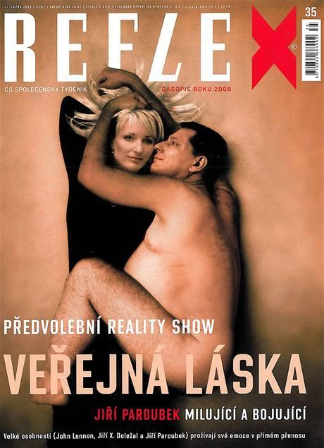 titulní strana týdeníku Reflex 35/2009