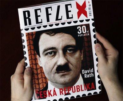 titulní strana týdeníku Reflex 6/2009