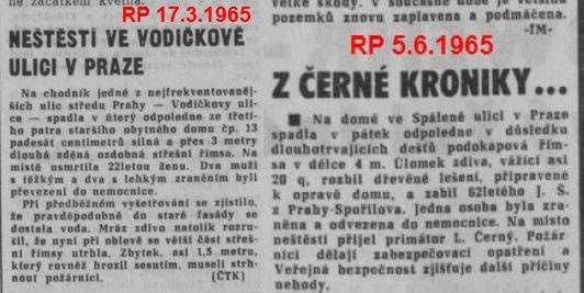 Černá kronika RP 1965
