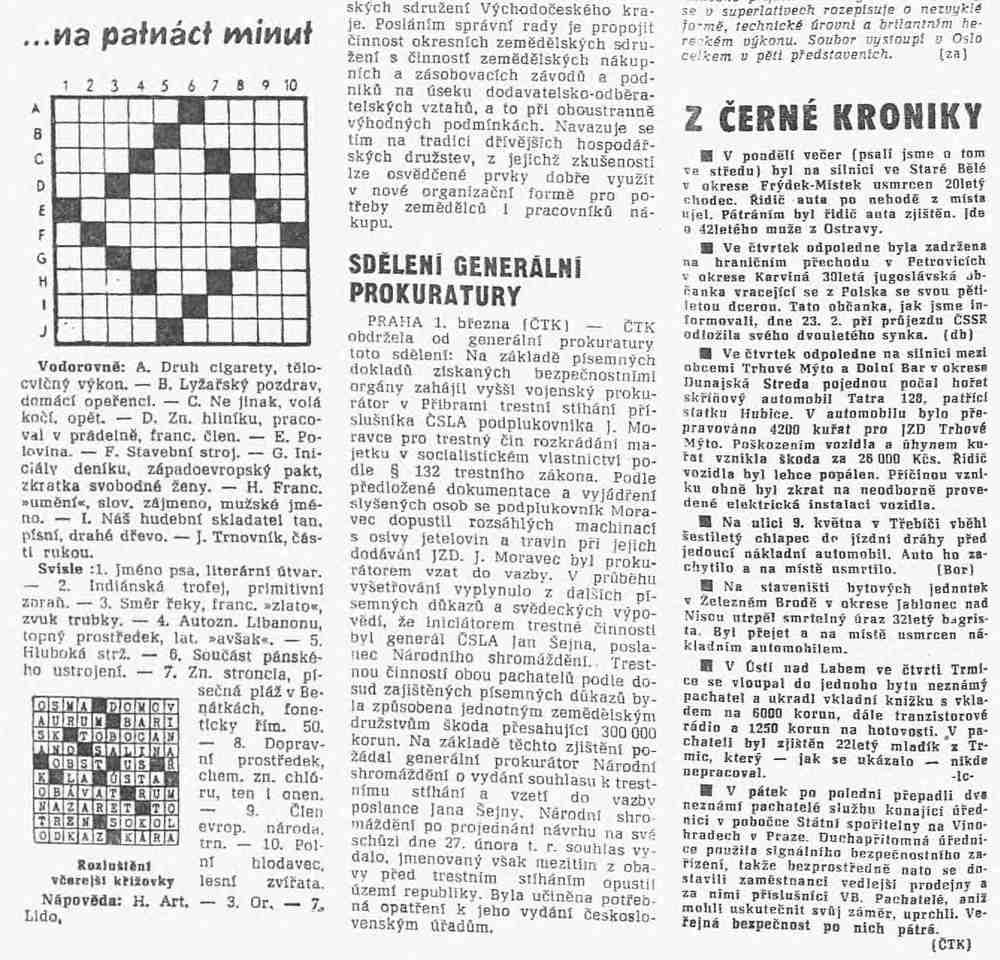 Právo 2. března 1968