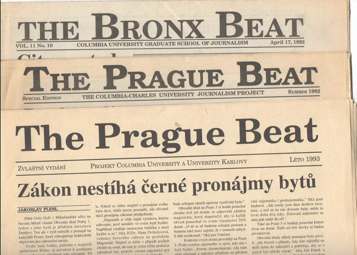 Bronx Beat a Prague Beat 1992 a 1993
