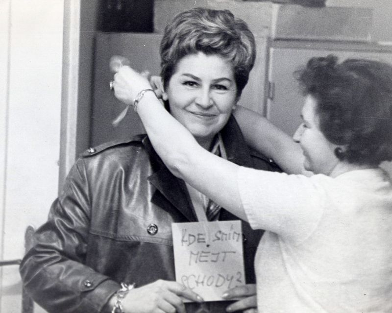 foto pořízené po srpnu 1968 v zahraniční redakci, autor: Dušan Neumann