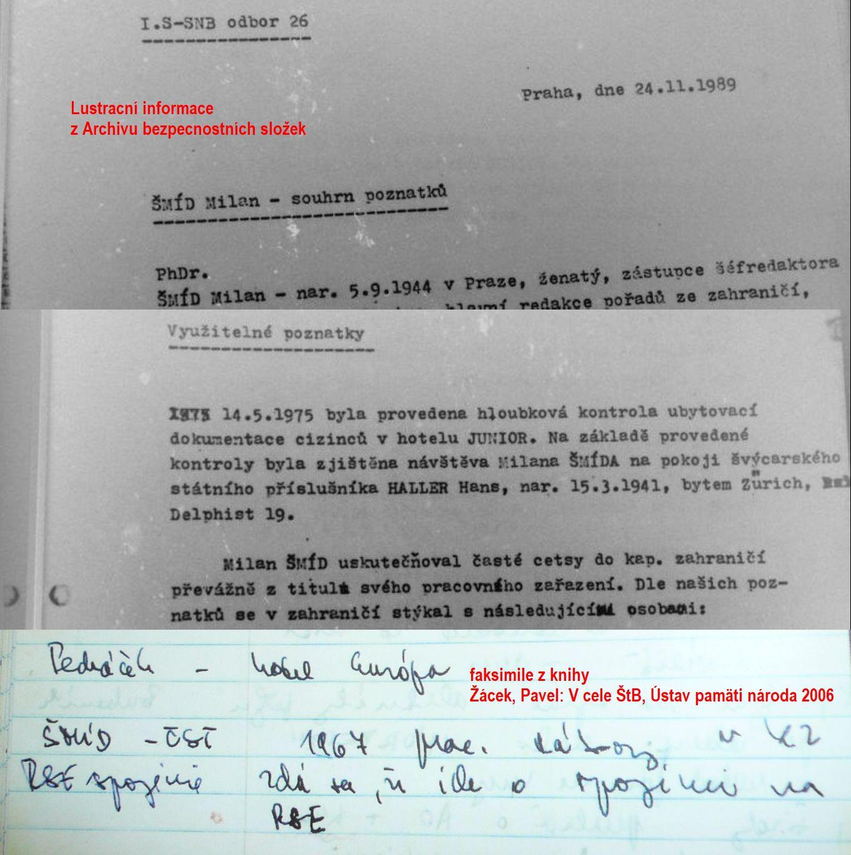 citace dokumentů StB