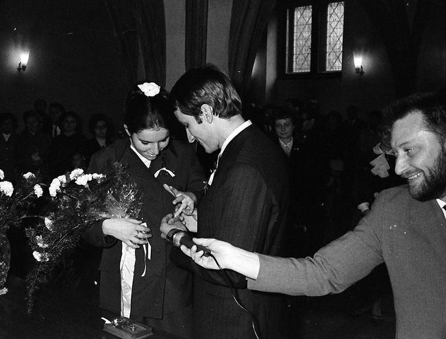 Svatba MŠ a JW 30.9.1969