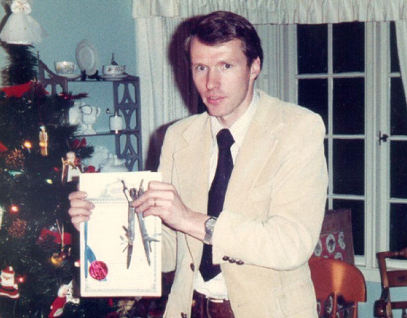 Tim Leatherman a jeho první model Crunch